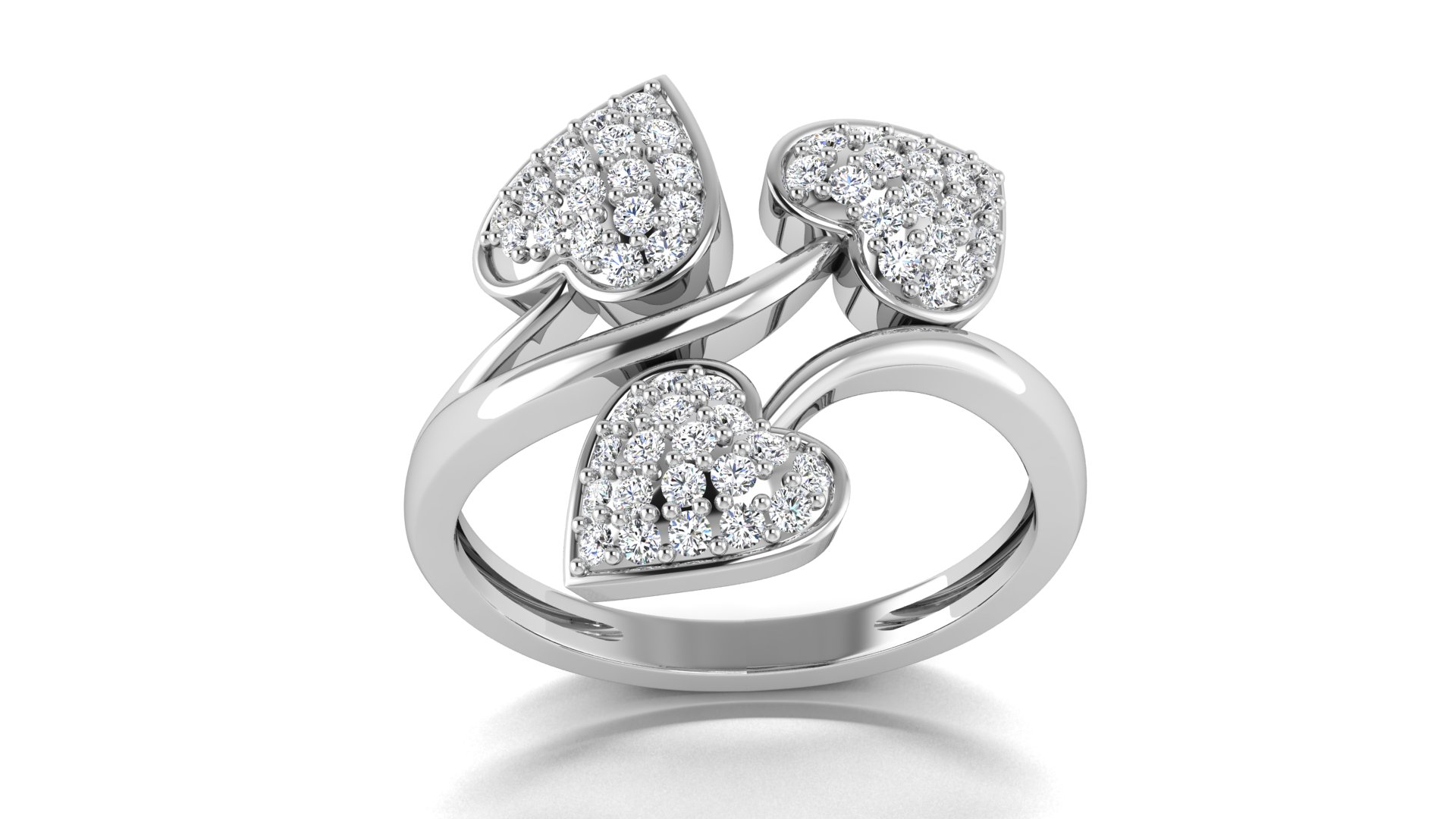 Fashionable Silver Ring for Ladies