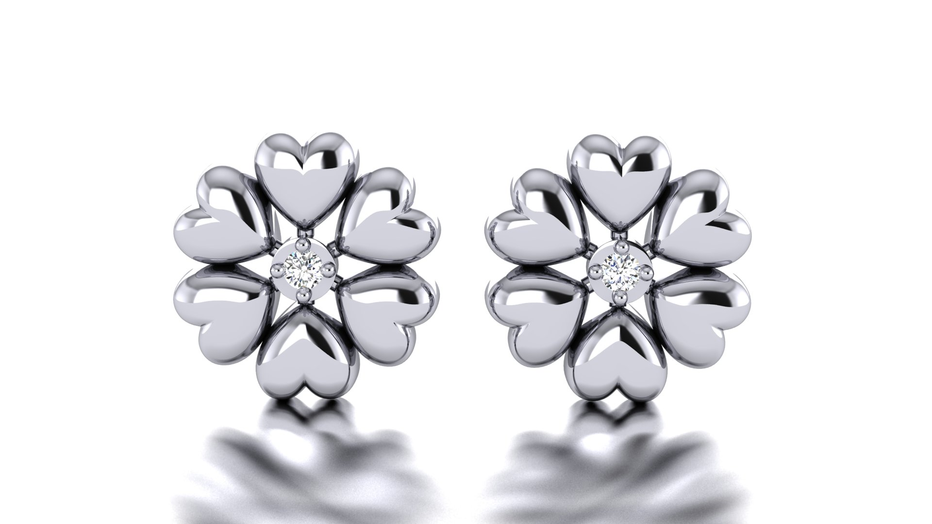 Casual Flower Design Earring for Women