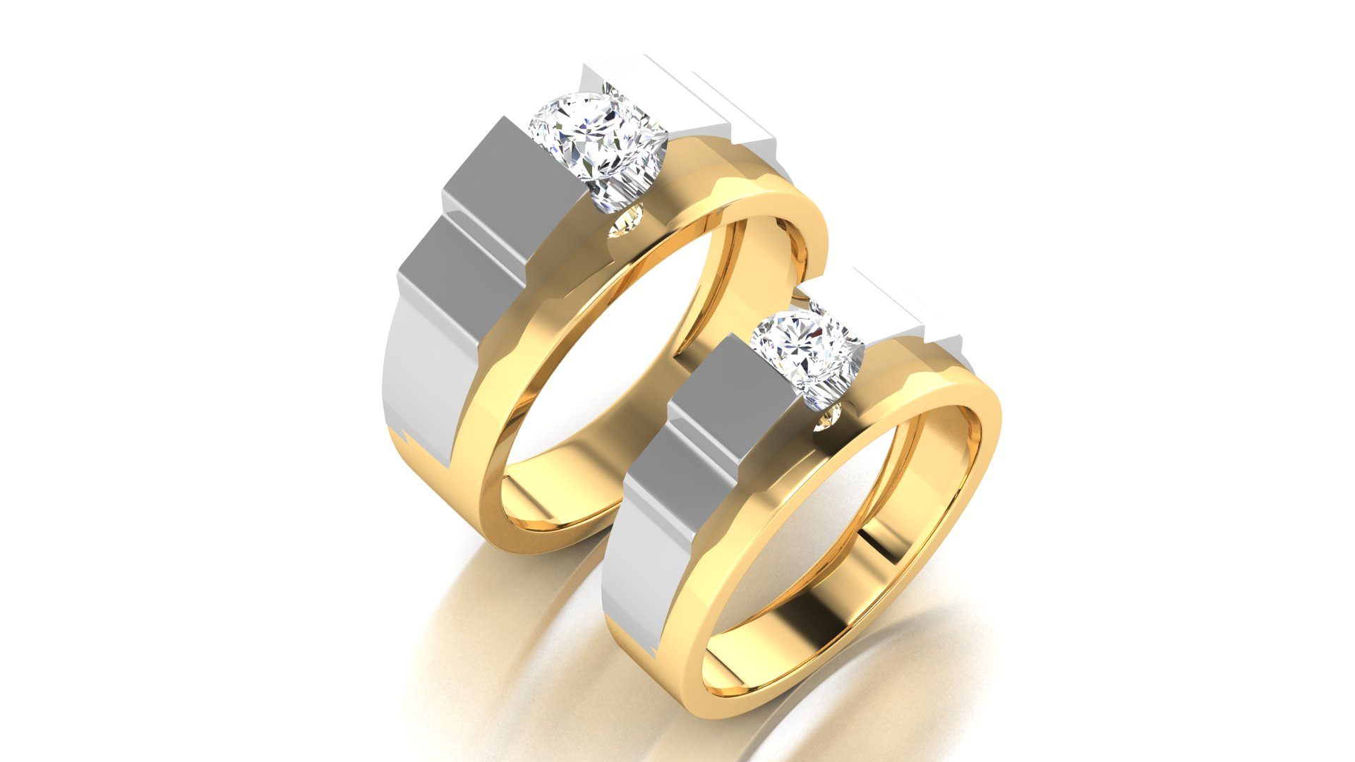 Stylish Diamond Engagement Ring Online