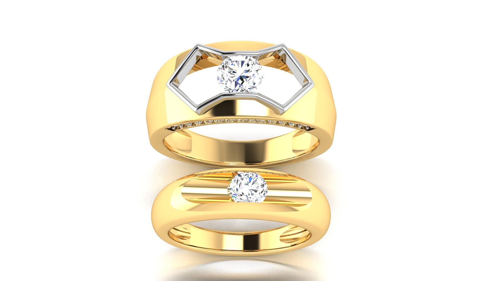 Couple Ring for Man and Women