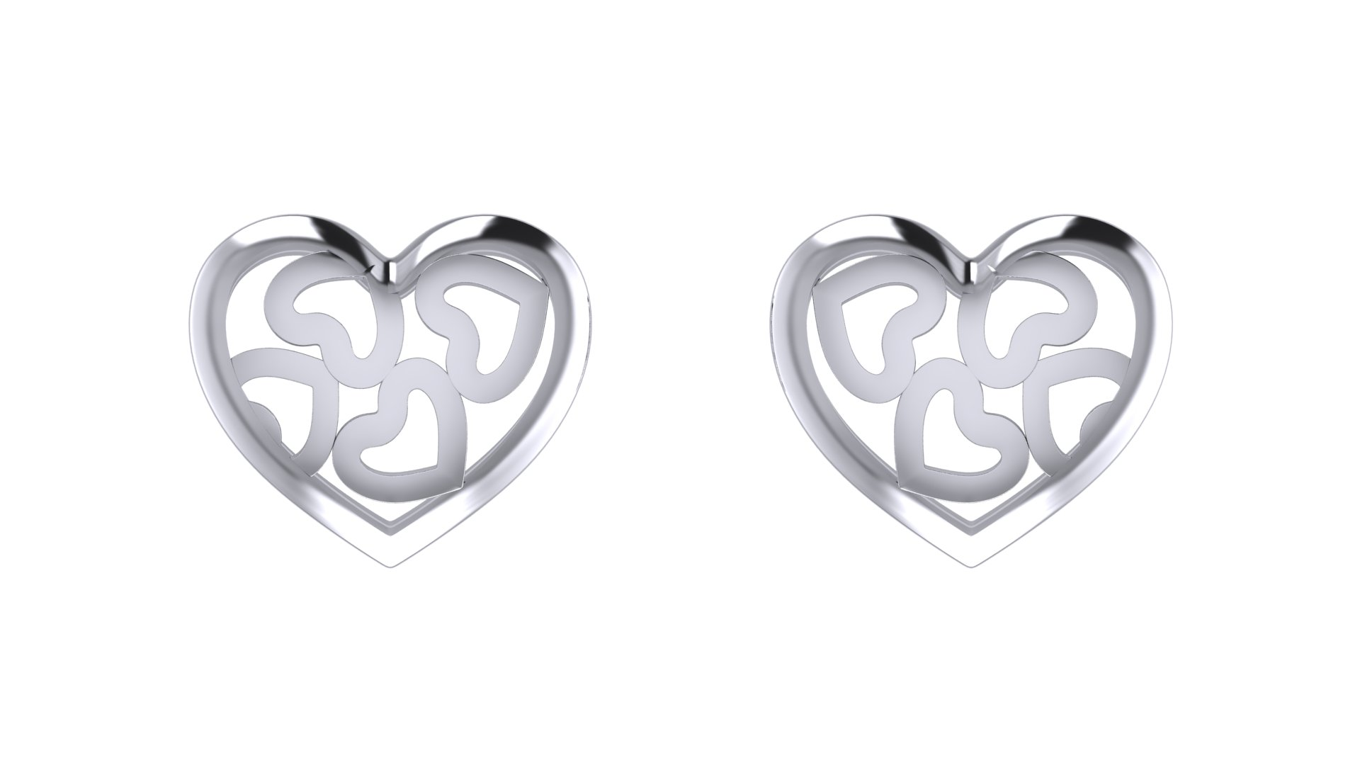 Heart Shape Love Earring