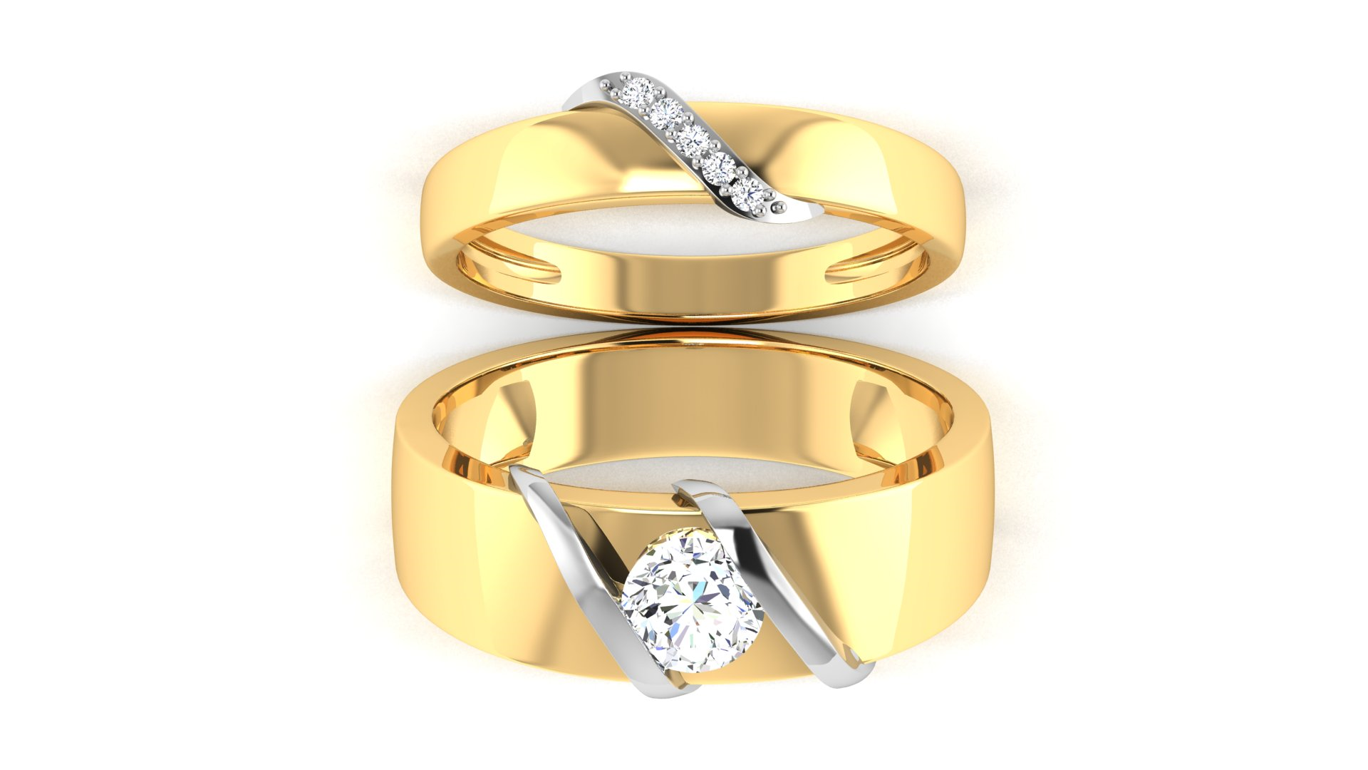 Diamond Ring for Engagement Ceremony