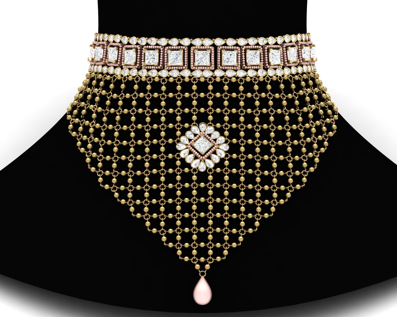 Gold Wedding Necklace Online Shopping