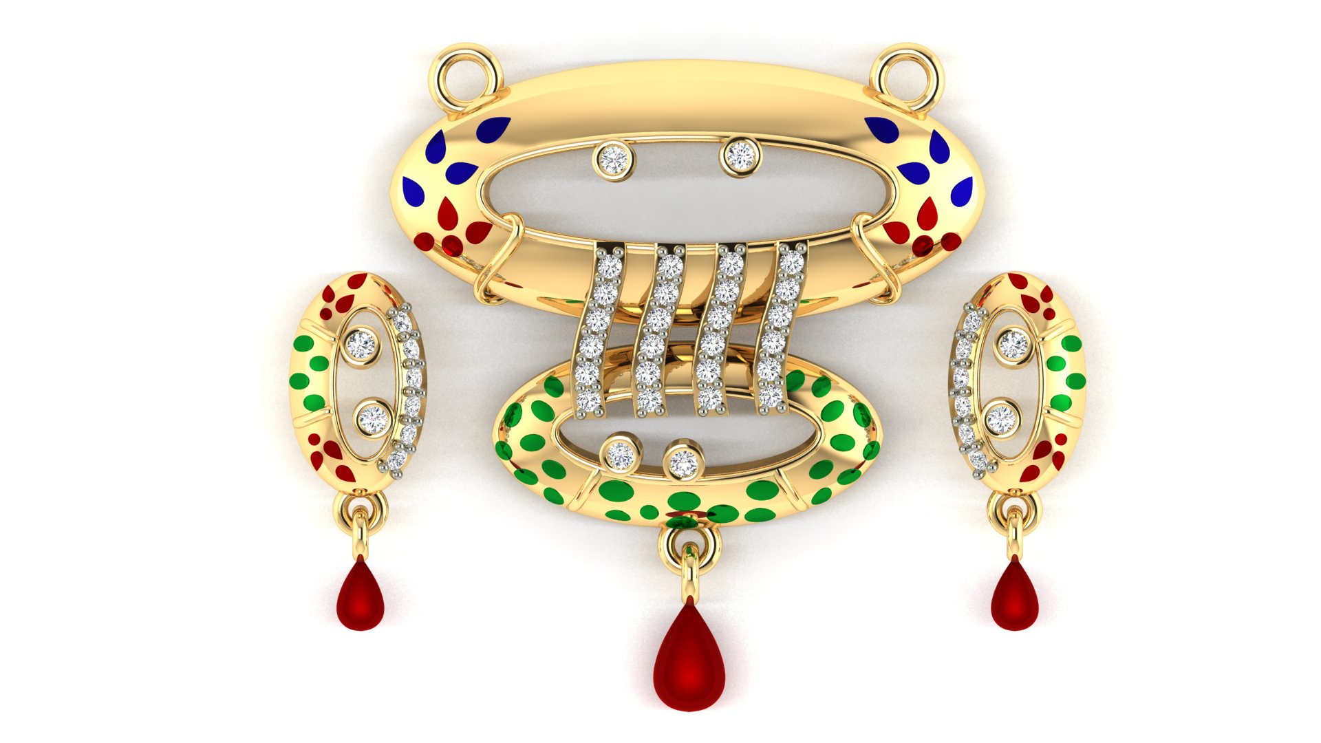 Jeweldezire Latest Mangalsutra with Butti